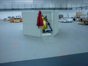 Roboterhalle