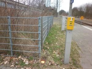 Grenzstein in Werneuchen